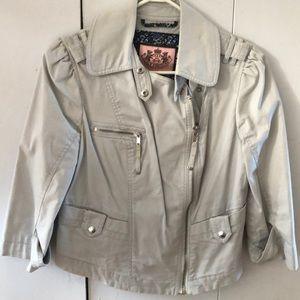 Motorcycle style blazer
